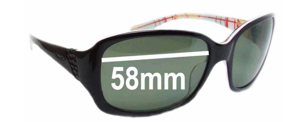 Oakley Discreet Replacement Sunglass Lenses - 58mm wide