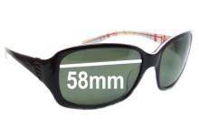 Oakley Discreet Replacement Sunglass Lenses - 58mm wide