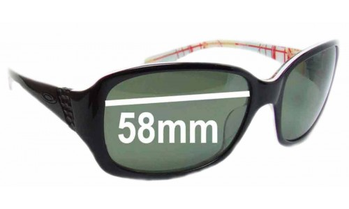 Oakley Discreet New Sunglass Lenses - 58mm wide