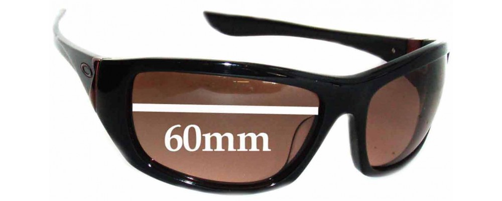 Oakley Disobey Replacement Sunglass Lenses 60mm wide