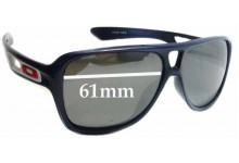 Oakley Dispatch II Replacement Sunglass Lenses - 61mm wide
