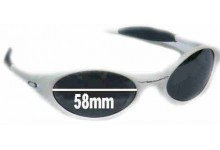 20dcd5fcef Sunglass Fix Replacement Lenses for Oakley Eye Jacket - 58 mm wide