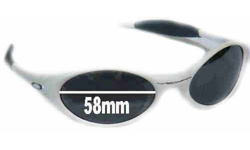 Oakley Eye Jacket Replacement Sunglass Lenses - 58 mm wide
