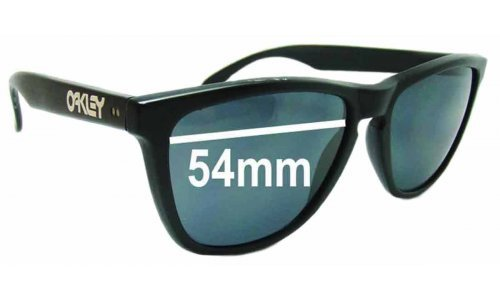 Early 54mm Oakley Frogskins Replacement Sunglass Lenses