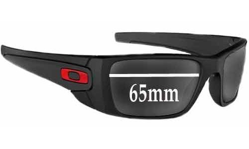 Oakley 65MM Fuel Cell Replacement Sunglass Lenses