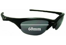 Oakley Half Jacket Replacement Sunglass Lenses 60mm wide