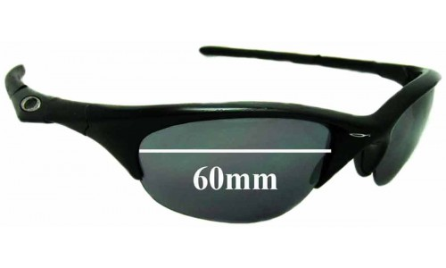 Sunglass Fix Replacement Lenses for Oakley Half Jacket 60mm wide