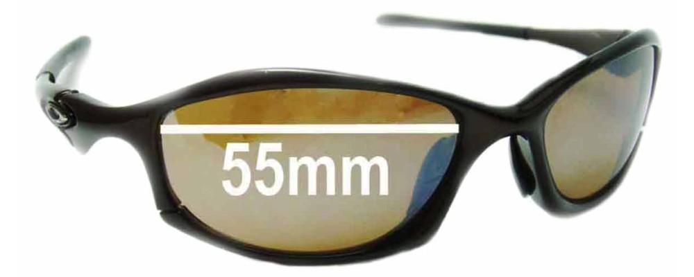 249d49721b Oakley Hatchet Replacement Sunglass Lenses - 55mm Wide