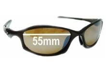 Oakley Hatchet Replacement Sunglass Lenses - 55mm Wide