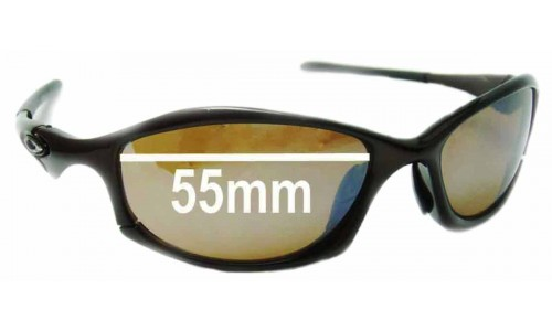 Oakley Hatchet Replacement Sunglass Lenses - 55mm Wide