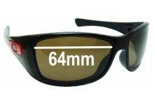 Sunglass Fix Replacement Lenses for Oakley Hijinx OO9021 - 64mm Wide