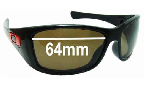 Sunglass Fix Replacement Lenses for Oakley Hijinx OO9021 - 64mm Wide