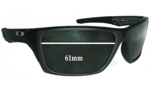 Sunglass Fix Replacement Lenses for Oakley Jury - 61mm wide