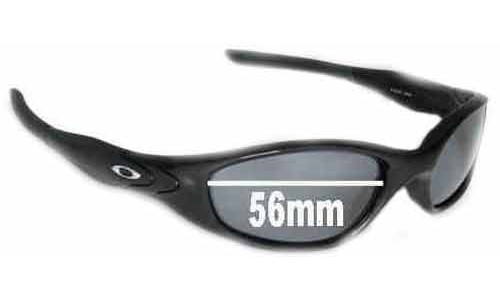 Sunglass Fix Replacement Lenses for Oakley Minute 2.0 - 56mm wide