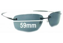 Oakley Nanowire 1.0 Replacement Sunglass Lenses - 59mm Wide