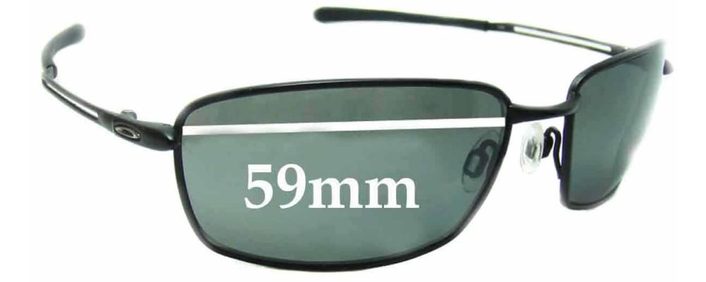 cf7cf846e9 Oakley Nano Wire 4.0 Replacement Sunglass Lenses - 59mm wide