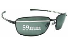 Oakley Nano Wire 4.0 Replacement Sunglass Lenses - 59mm wide