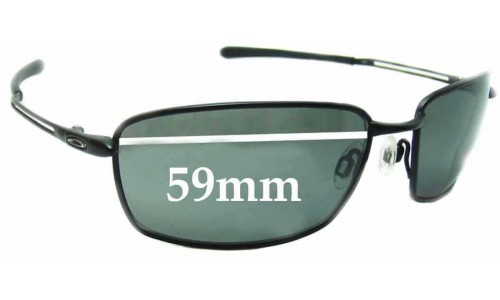 Sunglass Fix Replacement Lenses for Oakley NanoWire 4.0 - 59mm wide