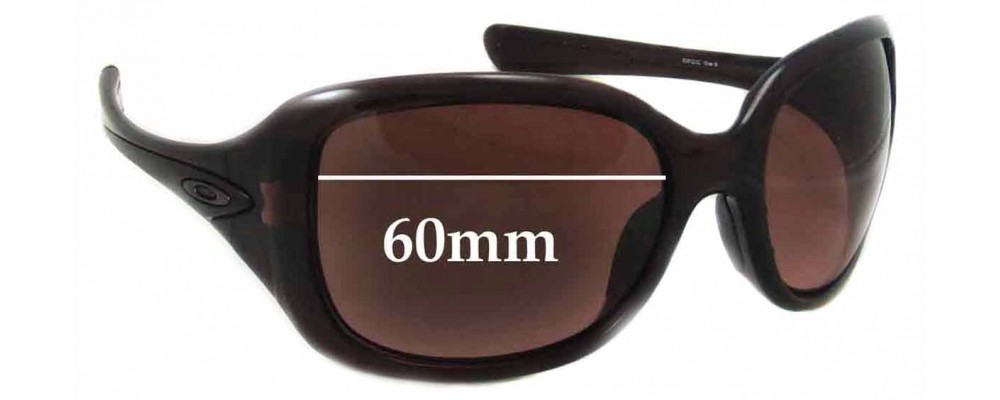 63c333ba9d2 Oakley Necessity Replacement Lenses - 60mm wide