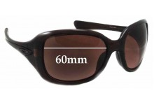 Sunglass Fix Replacement Lenses for Oakley OO9122 Necessity - 60mm wide