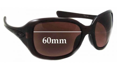Oakley Necessity New Sunglass Lenses - 60mm wide