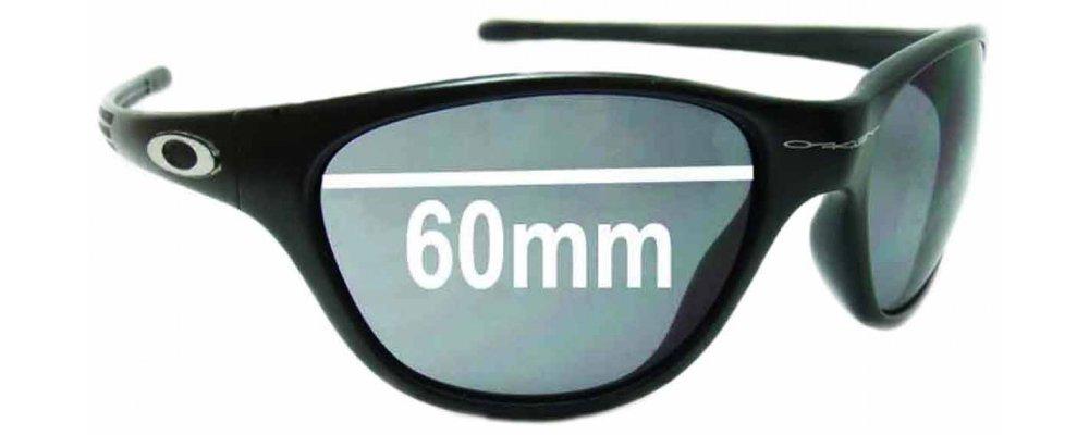 5b1e5f725a Oakley New Frogskin Replacement Sunglass Lenses circa 1996 - 60mm Wide