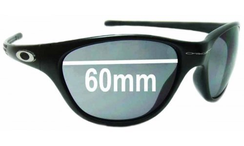Oakley New Frogskin Replacement Sunglass Lenses circa 1996 - 60mm Wide