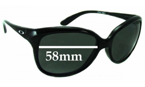 Oakley Pampered Replacement Sunglass Lenses - 58mm Wide