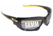 Oakley Scalpel Replacement Sunglass Lenses - 58mm wide
