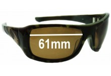 Oakley Sideways Replacement Sunglass Lenses - 61mm wide
