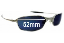Oakley Square Wire 2.0 Replacement Sunglass Lenses - 52mm Wide