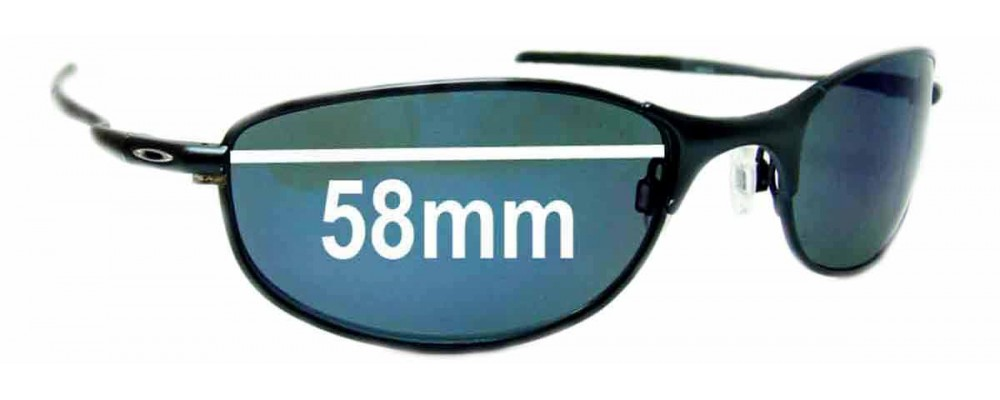 Replacement Fix™ Tightrope Sunglass By Oakley The Lenses 58mm mwnv0N8