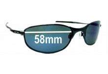 Oakley Tightrope Replacement Sunglass Lenses - 58mm Wide