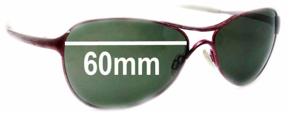 Oakley Warden Replacement Sunglass Lenses - 60mm wide