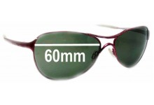 Oakley Warden Replacement Sunglass Lenses - 60mm wide