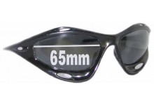 Oakley Racing Jacket Replacement Sunglass Lenses - 65mm Wide