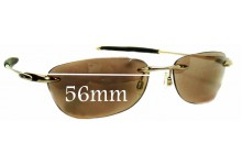 Sunglass Fix Replacement Lenses for Oakley Why 8.0 - 56mm Wide