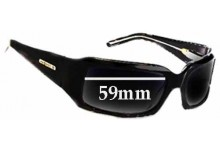 Odyssey M-Groove Mini Groove Replacement Sunglass Lenses - 59mm wide
