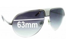 Original Penguin Corsica Replacement Sunglass Lenses - 63mm Wide