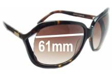 Oroton Cosmopolitan New Sunglass Lenses - 61mm Wide