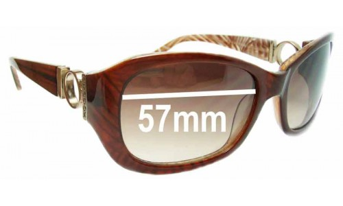 Oroton Malaga Replacement Sunglass Lenses - 57mm Wide