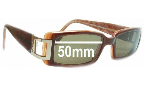 Oroton Milano Replacement Sunglass Lenses - 50mm Wide