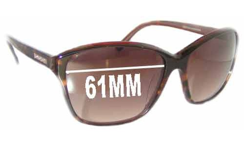 Oroton Timeless New Sunglass Lenses - 61MM Wide