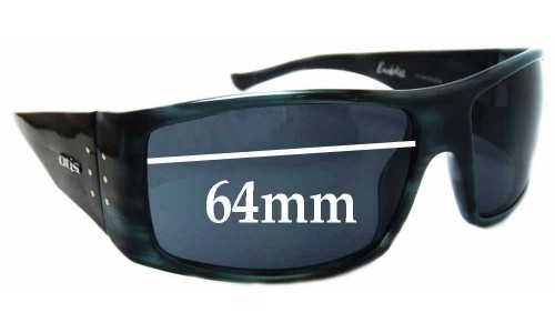 Otis Bubba Replacement Sunglass Lenses - 64mm wide