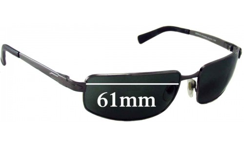Persol 2224S Replacement Sunglass Lenses - 61mm wide