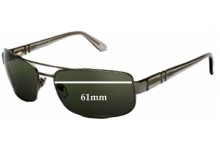 Persol 2279s Replacement Sunglass Lenses - 61mm wide