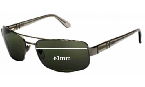 Persol 2279s New Sunglass Lenses - 61mm wide