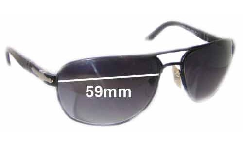 Persol 2340-S Replacement Sunglass Lenses - 59mm wide