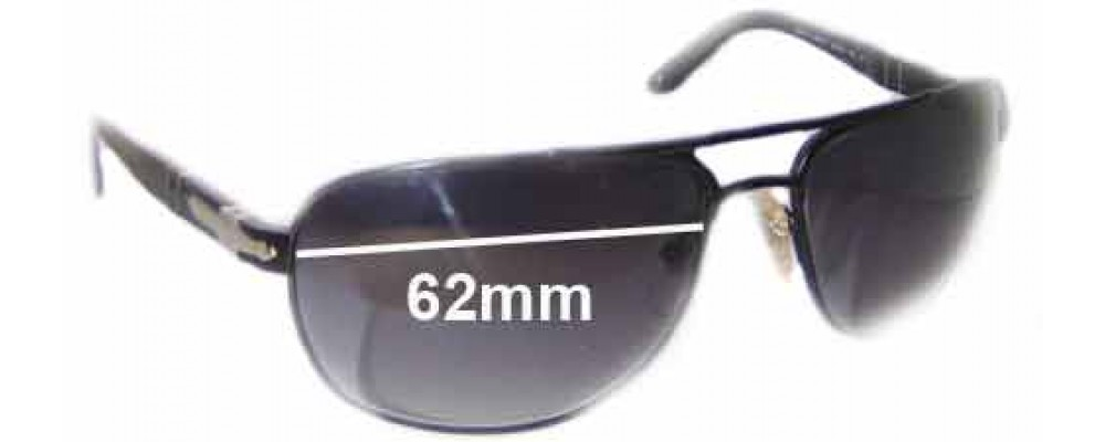 2f63524079 Sunglass Fix Replacement Lenses for Persol 2340-S - 62mm wide
