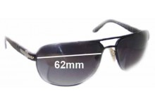 Persol 2340-S Replacement Sunglass Lenses - 62mm wide